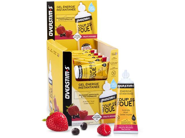 OVERSTIM.s Coup de Fouet Liquid Gel Box 36x30g, Red Berries